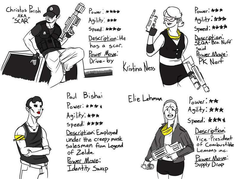 SNUG Comics SNUG_cast_2