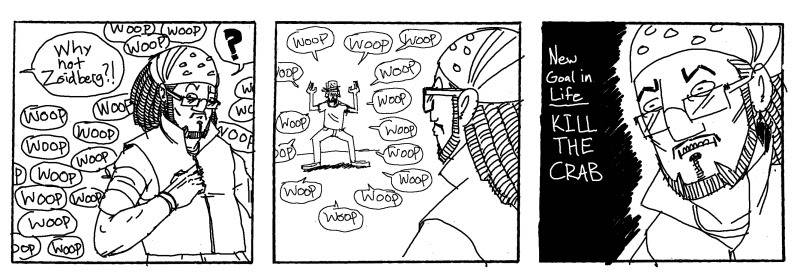SNUG Comics Zane_crab_miniSNUGcomic