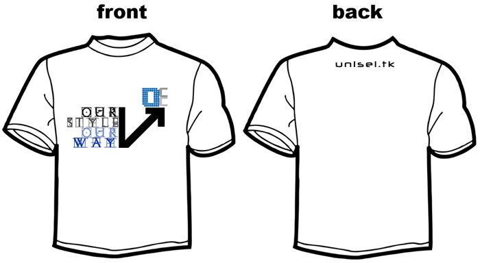 Design Ideas for UNiSEL.tk promo T-Shirt - Page 3 Unisel-tk-5b