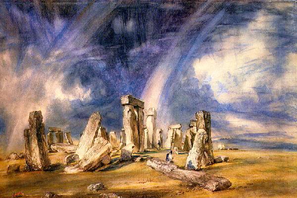 Rebuilt Stonehenge Constable_Stonehenge