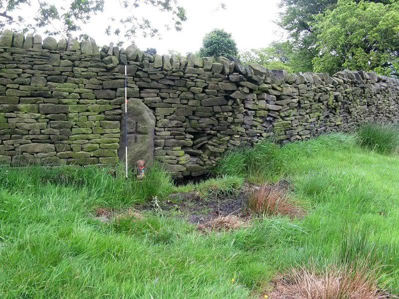 THE DISSENTERS' WELL & TOM'S CROSS, Kelbrook Moor, Lancs-Yorks Border. 14
