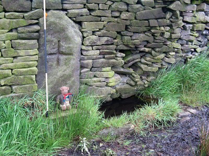 THE DISSENTERS' WELL & TOM'S CROSS, Kelbrook Moor, Lancs-Yorks Border. 15