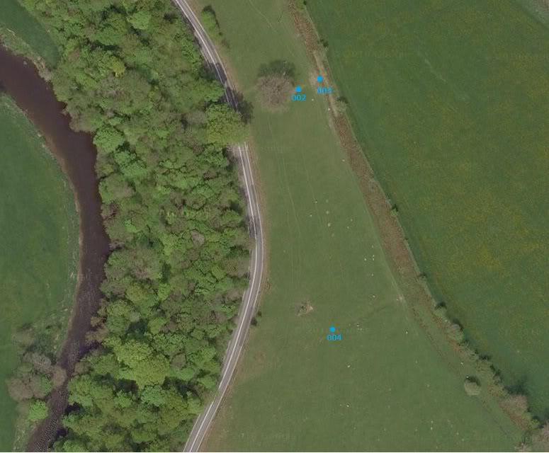 Possible Roman Site in Horton Lancashire Sat