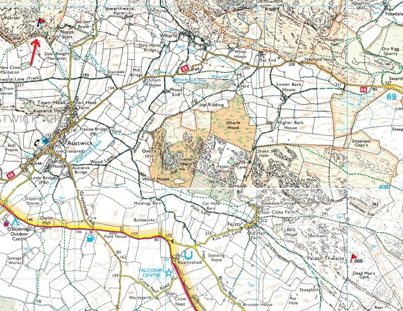 The Celtic Walls Norbermap