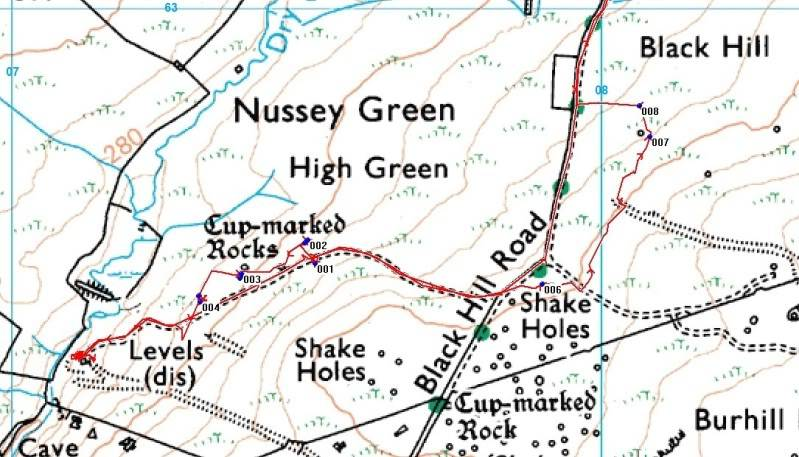 Nussey Green 9-7-11 NusseyGreenmap