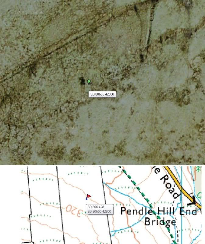 PENDLE HILL, STONEY BANK RINGWORK, SD 806 428 SAT