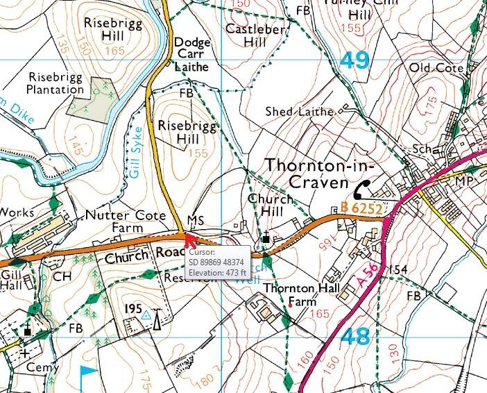 The Porridge Stoop Map