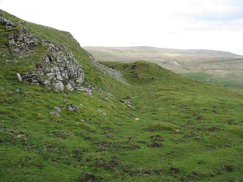 TOR DYKE, above Kettlewell, North Yorkshire SD 978 755.  HER NO: MYD4145 IMG_2657