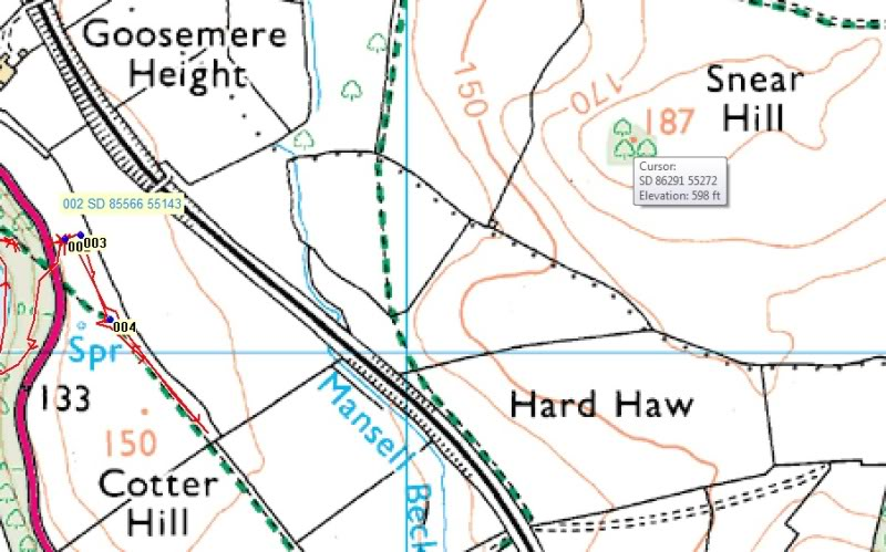 Possible Roman Site in Horton Lancashire - Page 2 Newfindmap