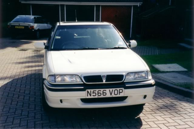 Rover 214si - darrenzs Home-NobbieGullie
