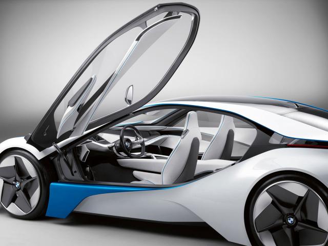 BMW i8 Vision Efficientdynamics prototype WIP using Autodesk Maya 2009_BMW_Vision_EfficientDynamics_Concept_08