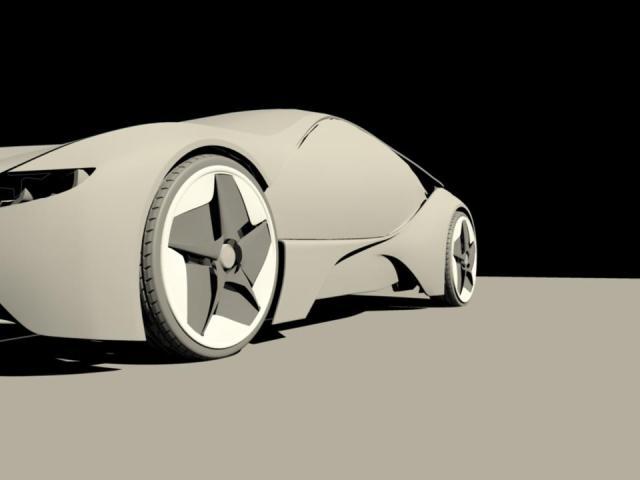 BMW i8 Vision Efficientdynamics prototype WIP using Autodesk Maya 293741_495417823815761_1920401453_n