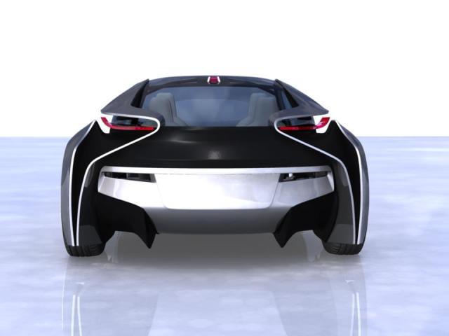 BMW i8 Vision Efficientdynamics prototype WIP using Autodesk Maya 421046_497158040308406_1632115233_n