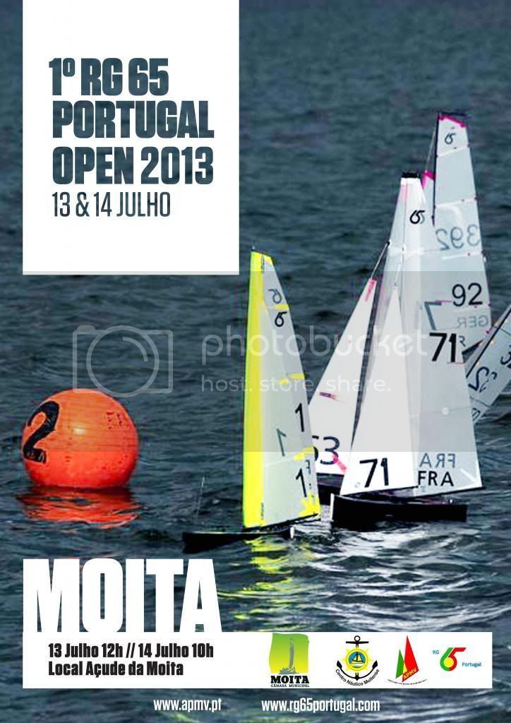 1º RG65 Portugal Open 2013 CARTAZJOANARG65