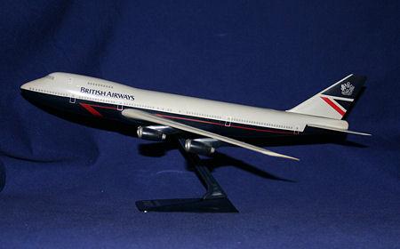 Vand machete avioane civile (multe raritati) B747BA