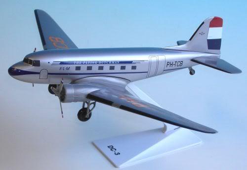Vand machete avioane civile (multe raritati) - Pagina 2 DC3KLM