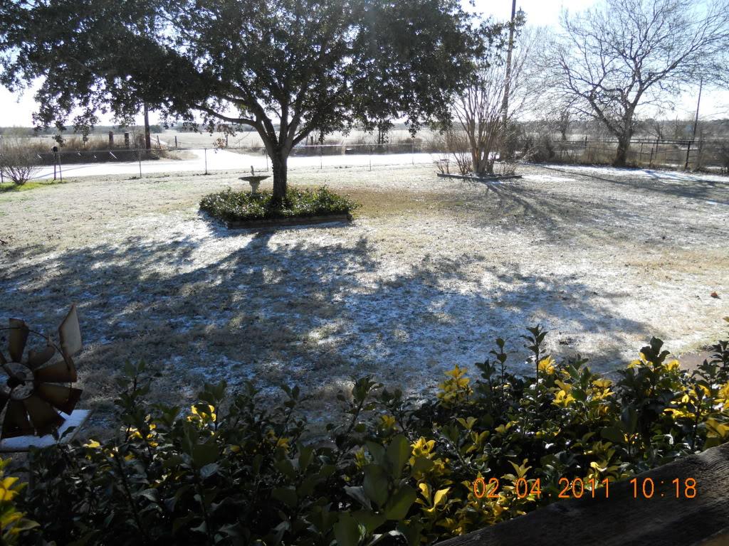 Is anyone else freezing? 002-7