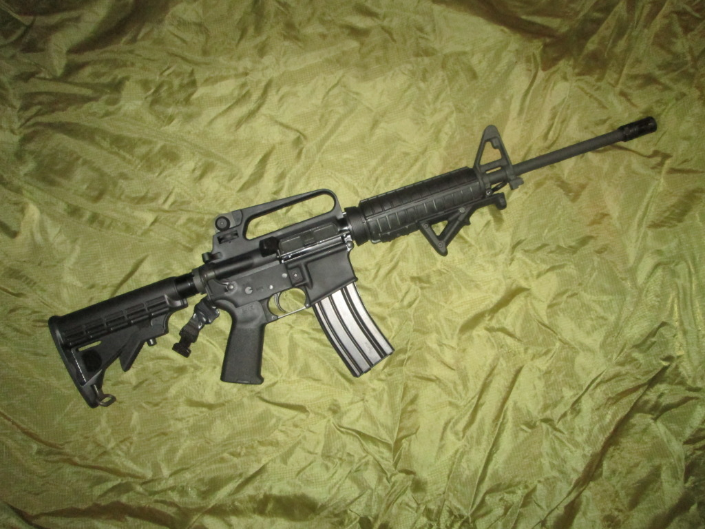 New Forum Member and victim of BRS (Black Rifle Syndrome) IMG_0010