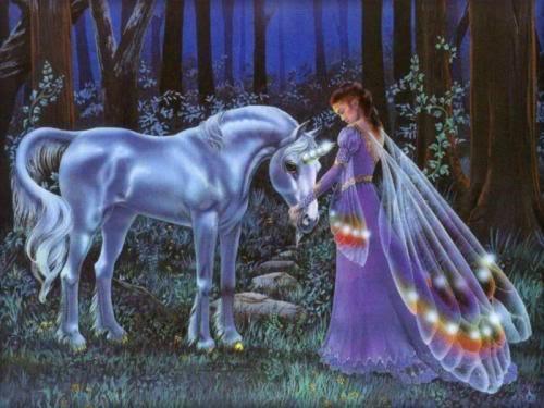 Unicornios y Pegasos. Unicornio90