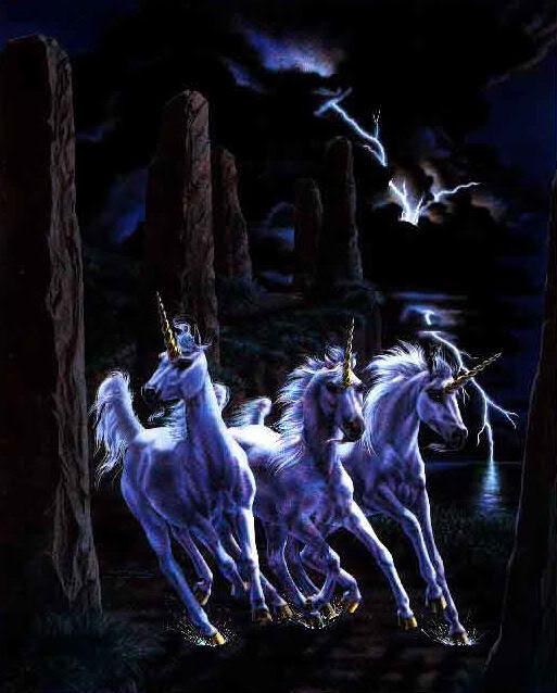 Unicornios y Pegasos. Unicornio92