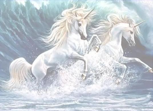 Unicornios y Pegasos. Unicornio96