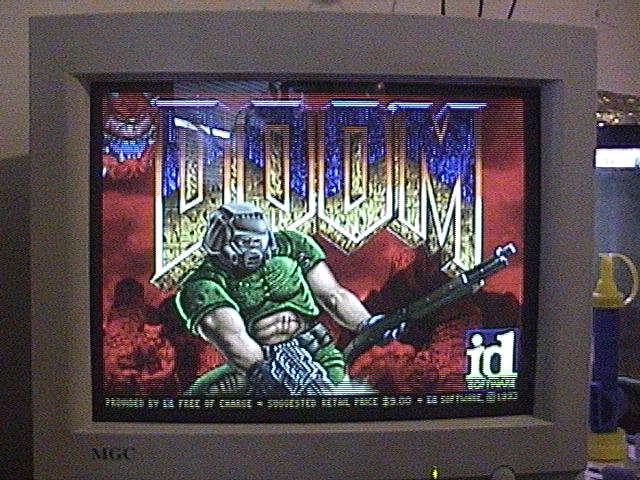 486 DX2-80 - A trip down memory lane Doom