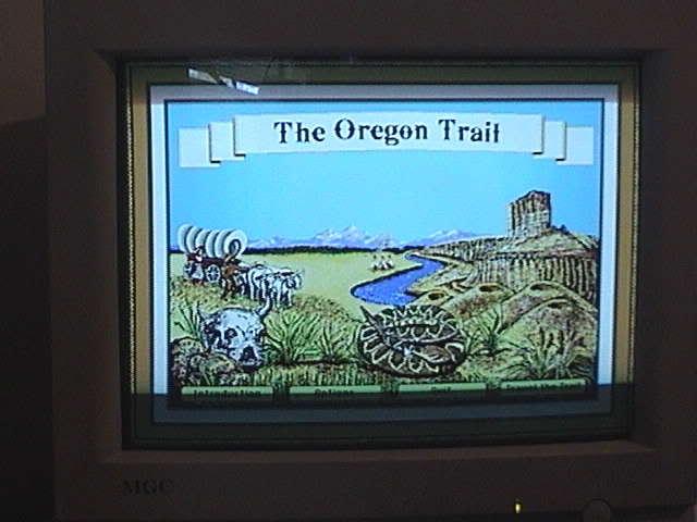 486 DX2-80 - A trip down memory lane Oregontrail