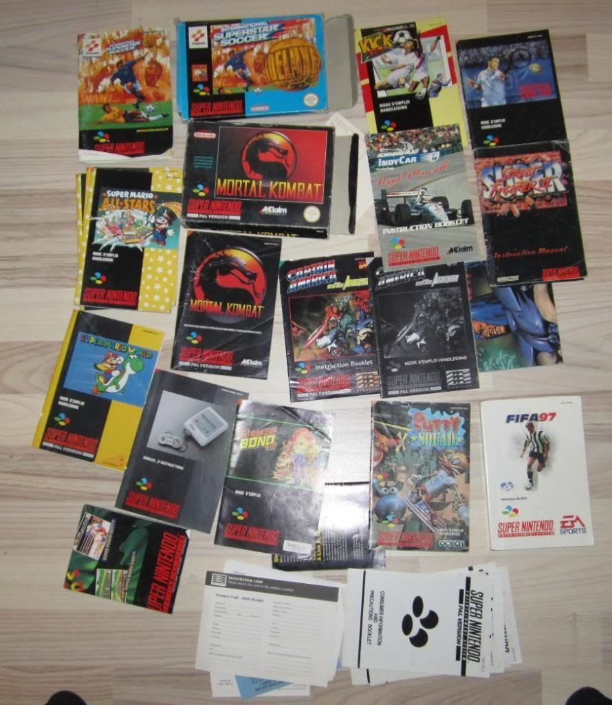 [RECH][Ech] notice Super Nintendo Megadrive NES G&W GAME gear MAJ 2014 IMG_4391