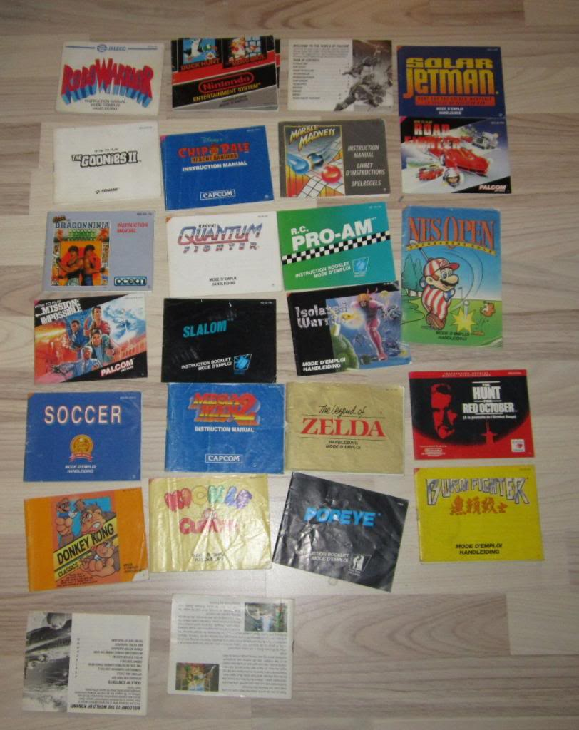 [RECH][Ech] notice Super Nintendo Megadrive NES G&W GAME gear MAJ 2014 IMG_4392
