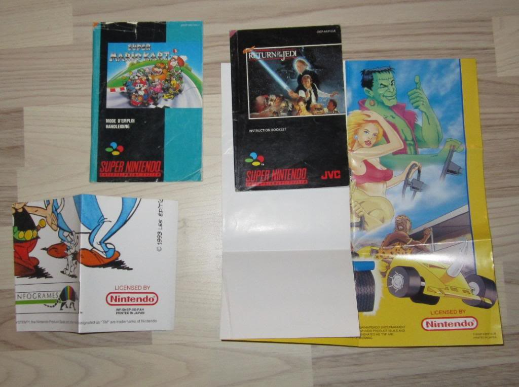 [RECH][Ech] notice Super Nintendo Megadrive NES G&W GAME gear MAJ 2014 IMG_4393