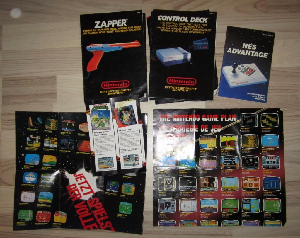 [RECH][Ech] notice Super Nintendo Megadrive NES G&W GAME gear MAJ 2014 IMG_4394