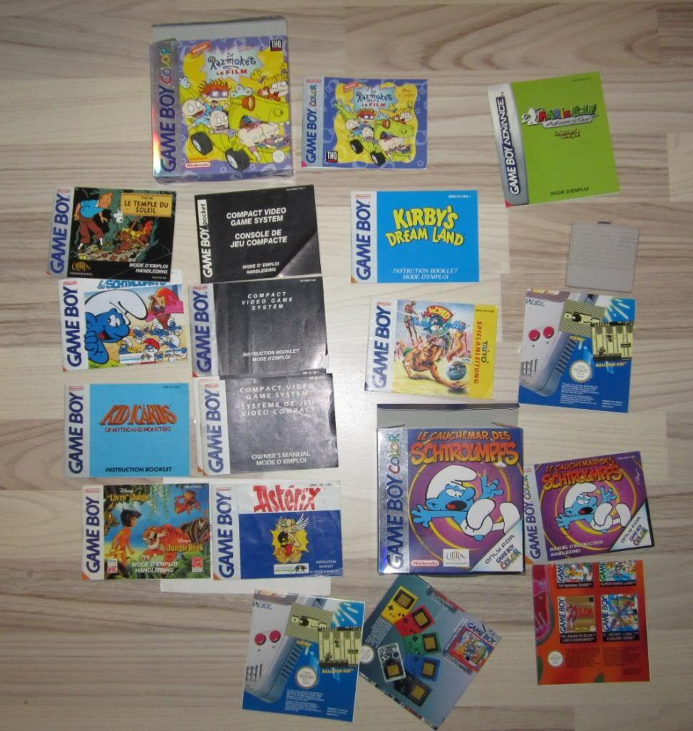 [RECH][Ech] notice Super Nintendo Megadrive NES G&W GAME gear MAJ 2014 IMG_4395