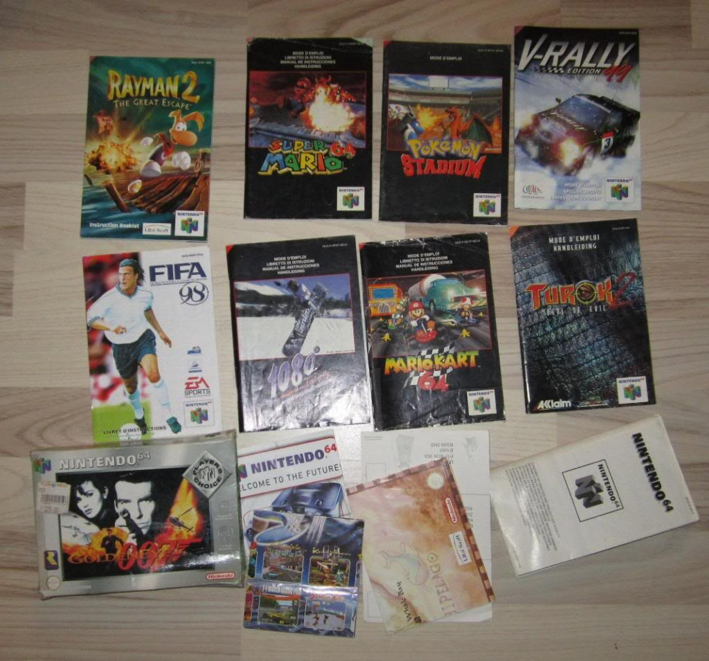[RECH][Ech] notice Super Nintendo Megadrive NES G&W GAME gear MAJ 2014 IMG_4396