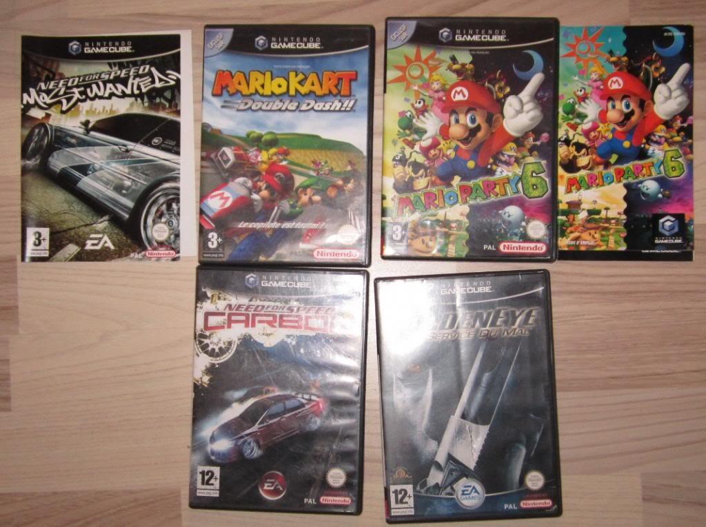 [RECH][Ech] notice Super Nintendo Megadrive NES G&W GAME gear MAJ 2014 IMG_4397