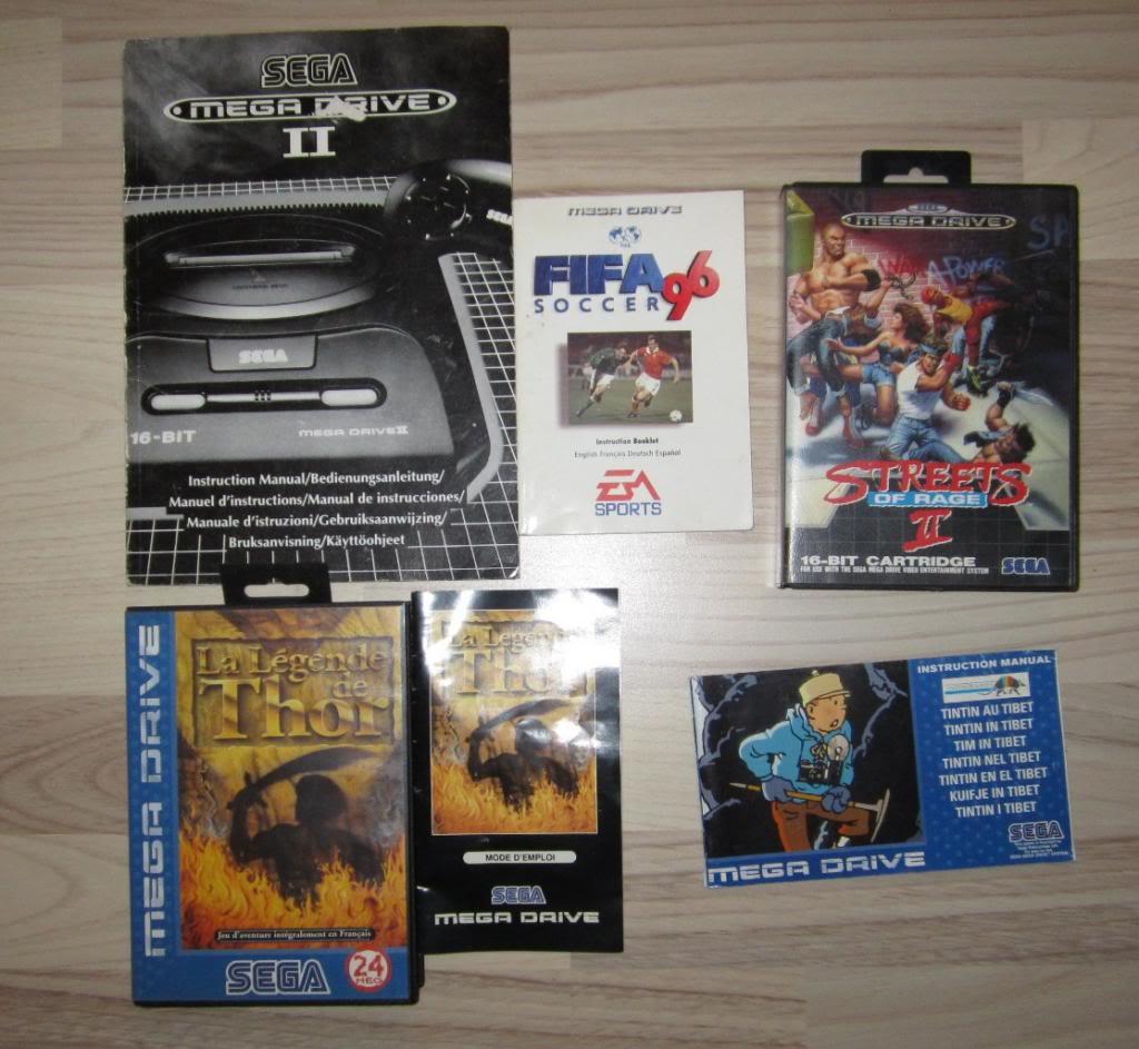 [RECH][Ech] notice Super Nintendo Megadrive NES G&W GAME gear MAJ 2014 IMG_4401