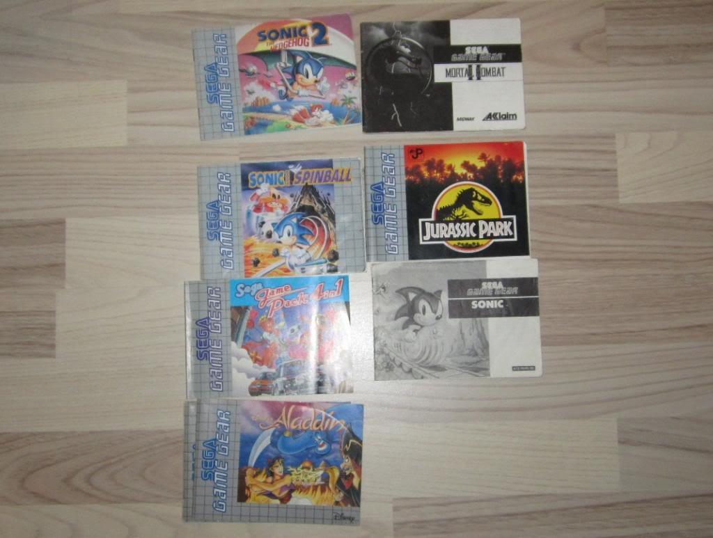 [RECH][Ech] notice Super Nintendo Megadrive NES G&W GAME gear MAJ 2014 IMG_4402