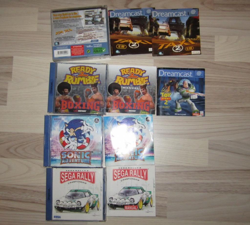 [RECH][Ech] notice Super Nintendo Megadrive NES G&W GAME gear MAJ 2014 IMG_4404