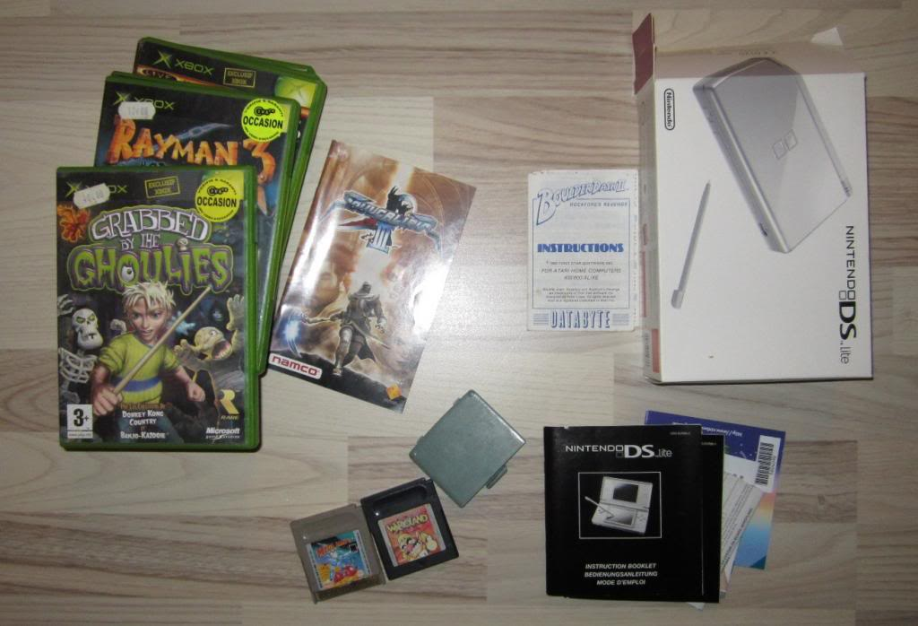 [RECH][Ech] notice Super Nintendo Megadrive NES G&W GAME gear MAJ 2014 IMG_4406