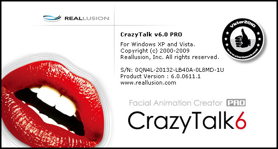 Crazy Talk 6 Pro كامل + جميع الستايلات والإضافات Crazy1