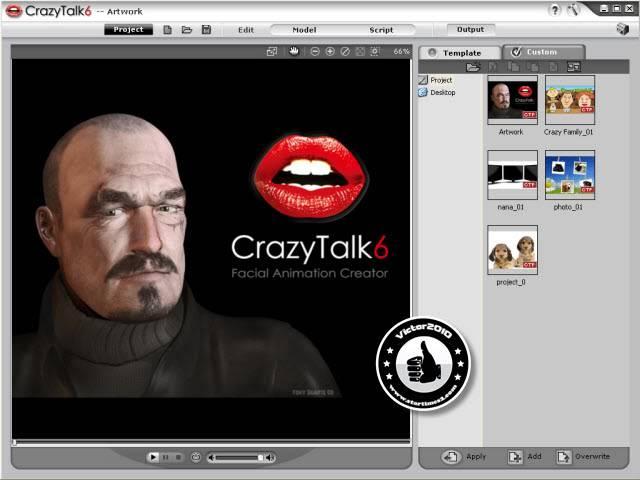 Crazy Talk 6 Pro كامل + جميع الستايلات والإضافات Crazy6