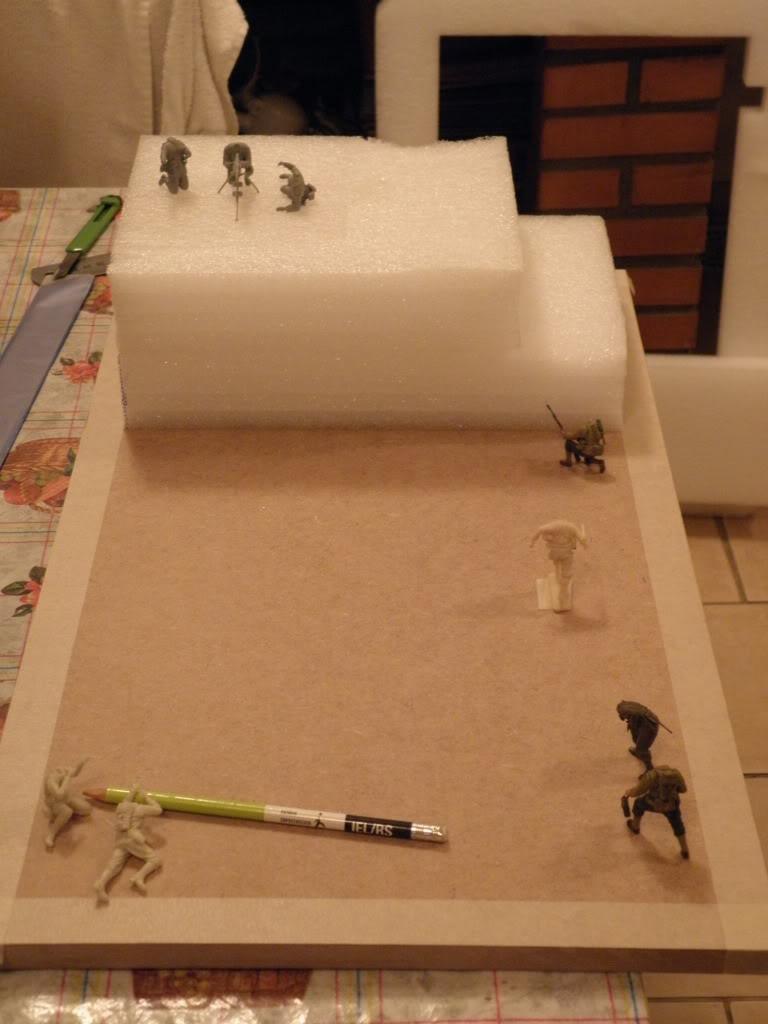 Diorama Omaha Dia ''D'' P4220093