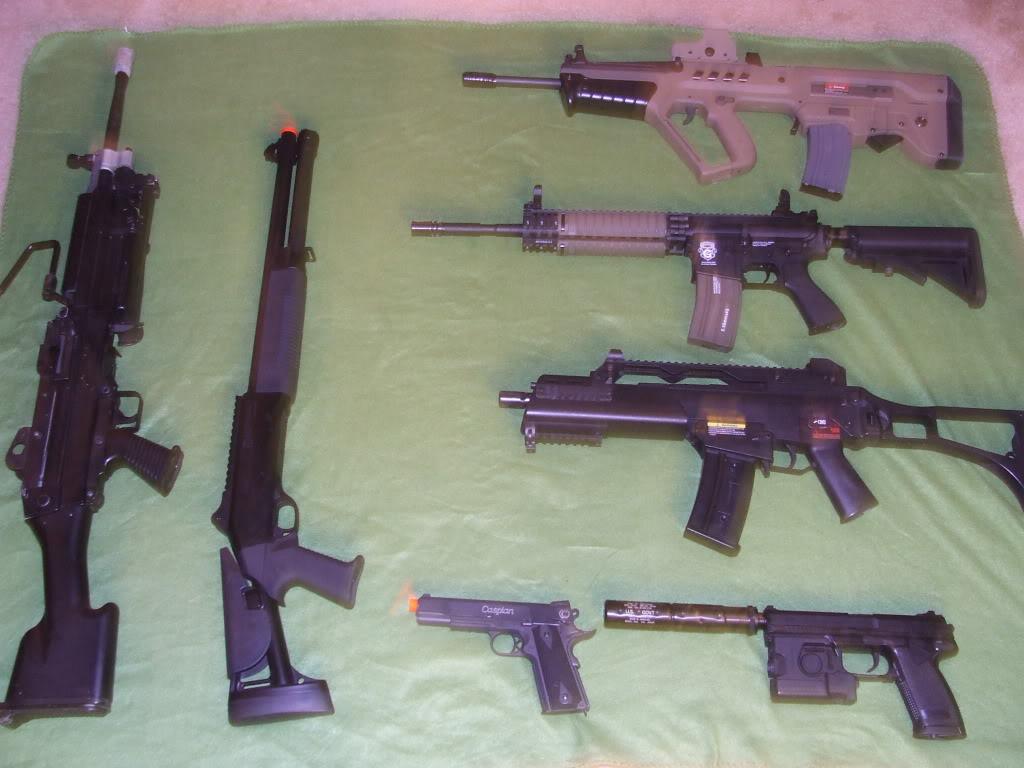 Personal Gear and Guns... DSCF4511