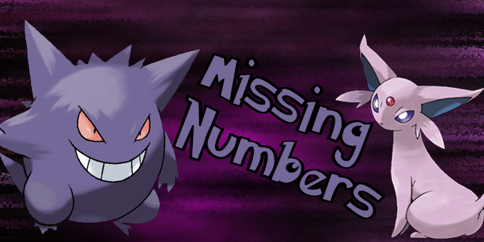 The Missing Numbers