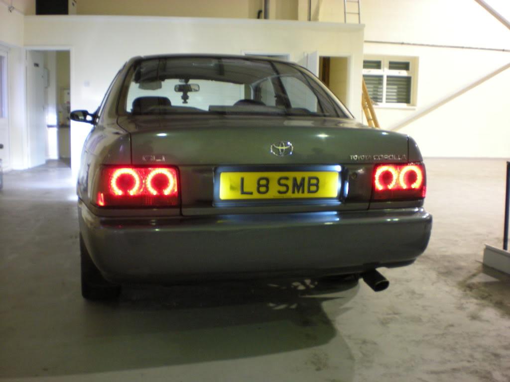 Custom Saloon Rear lights DSCN3440