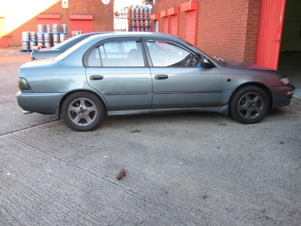 ★ 1993 Toyota Corolla 花冠 ターボ Saloon ★  IMG_2185