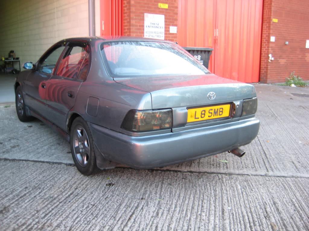 ★ 1993 Toyota Corolla 花冠 ターボ Saloon ★  IMG_2187