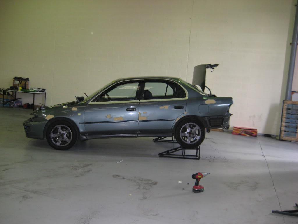 ★ 1993 Toyota Corolla 花冠 ターボ Saloon ★  IMG_2193
