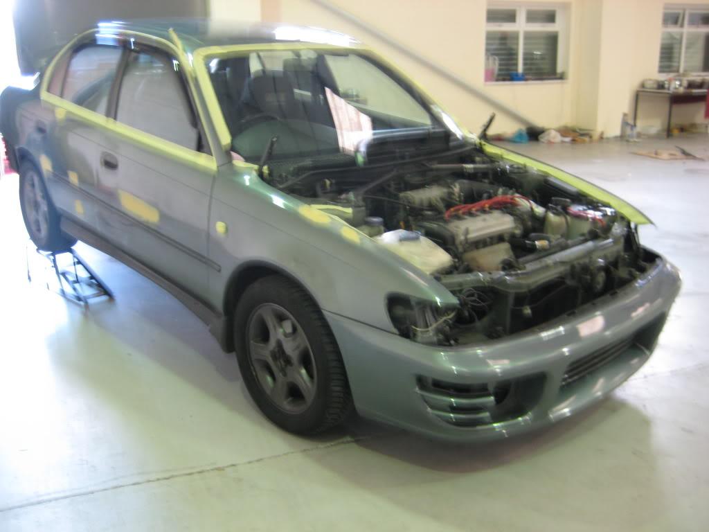 ★ 1993 Toyota Corolla 花冠 ターボ Saloon ★  IMG_2196