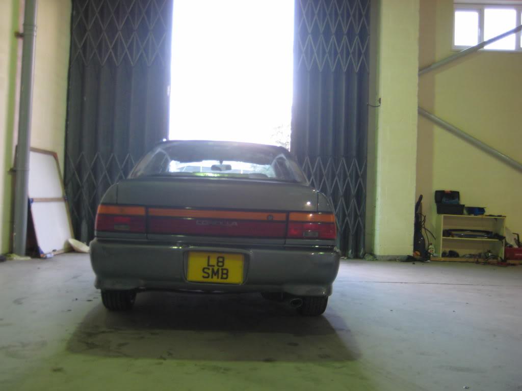 ★ 1993 Toyota Corolla 花冠 ターボ Saloon ★  IMG_2720