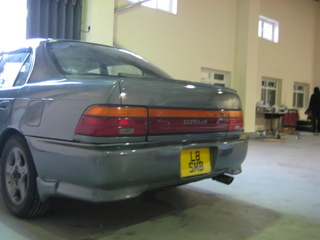 ★ 1993 Toyota Corolla 花冠 ターボ Saloon ★  IMG_2722